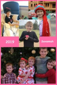 2019 Dream Child - Savannah
