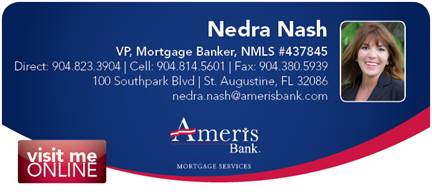 Ameris Bank - Nedra Nash